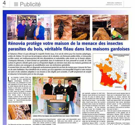 Rénovéa Midi Libre