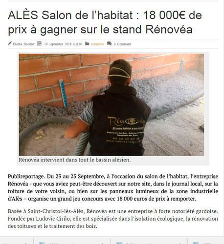 Rénovéa Salon de l'habitat Alès